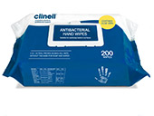 Clinell Antibacterial Hand and Surface Wipes
