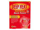 Deep Heat Pain Relief Back Patch (Extra Large)