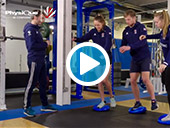Physique Wobble Air Cushion Exercises | Ankle Strength & Rehab with GB Hockey Video