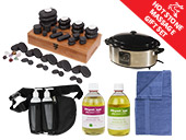 Hot Stone Massage Gift Set