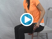 The Moji Minute - How to Massage Your Hamstrings Video