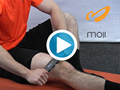 The Moji Minute - How to Massage Your Quads Video