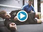 Newcastle Falcons : Glute Activation with Physio Video