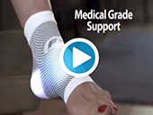 OrthoSleeve FS6 Compression Foot Sleeve TV Commercial Video