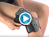 Donjoy® REACTION WEB® Knee Brace Video
