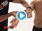 RockTape - Kinesiology Tape Instruction - General Flexor Video