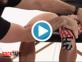 RockTape - Kinesiology Tape Instruction - Standard Knee Video