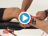 RockTape - Kinesiology Tape Instruction - Shin Splints Video