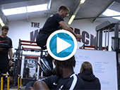 Behind the scenes at Saracens Training with Physique Video