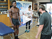 Saracens Players Screening Day Video