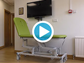 Seers 2 Section Therapy Couch Video