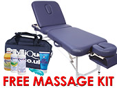 Physique Therapy Couch + FREE Massage Kit