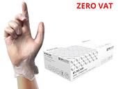 Unigloves Unicare Clear Vinyl Examination Gloves