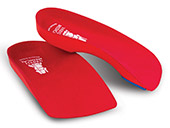 Vasyli Red Custom 3/4 Orthotics - High Density