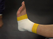 Speed Taping: Ankle & Lower Leg Video