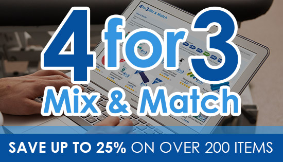 4 for 3 Mix & Match - Over 100 products in our great deal