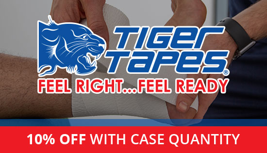 Tiger Tapes - 10% off with case quantity