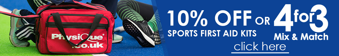 10% OFF Physique Sports First Aid Kits