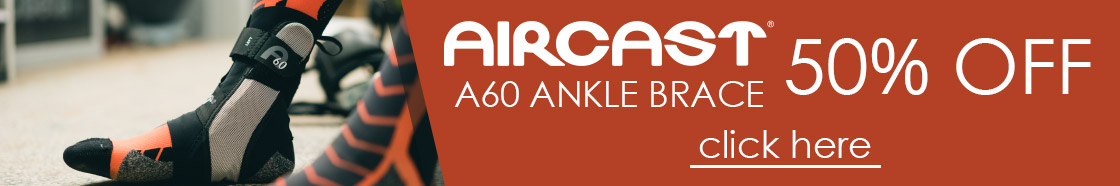 50% OFF Aircast A60 Ankle Brace