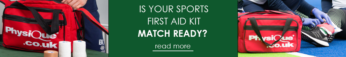 Is Your Sports First Aid Kit Match Ready?