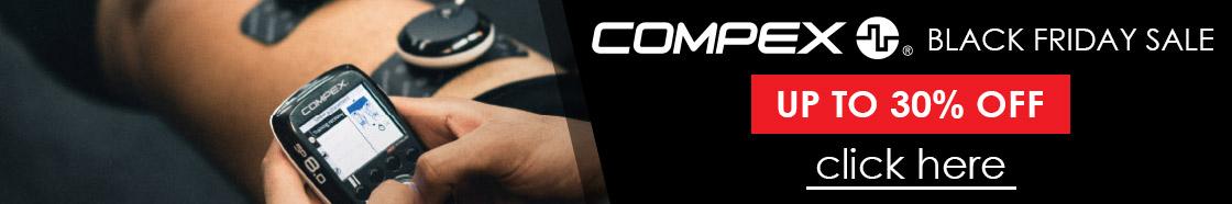 Compex Black Friday Sale 2020