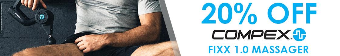 20% OFF Compex Fixx 1.0 Massager