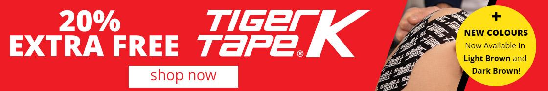 Tiger K Tape | 20% EXTRA FREE